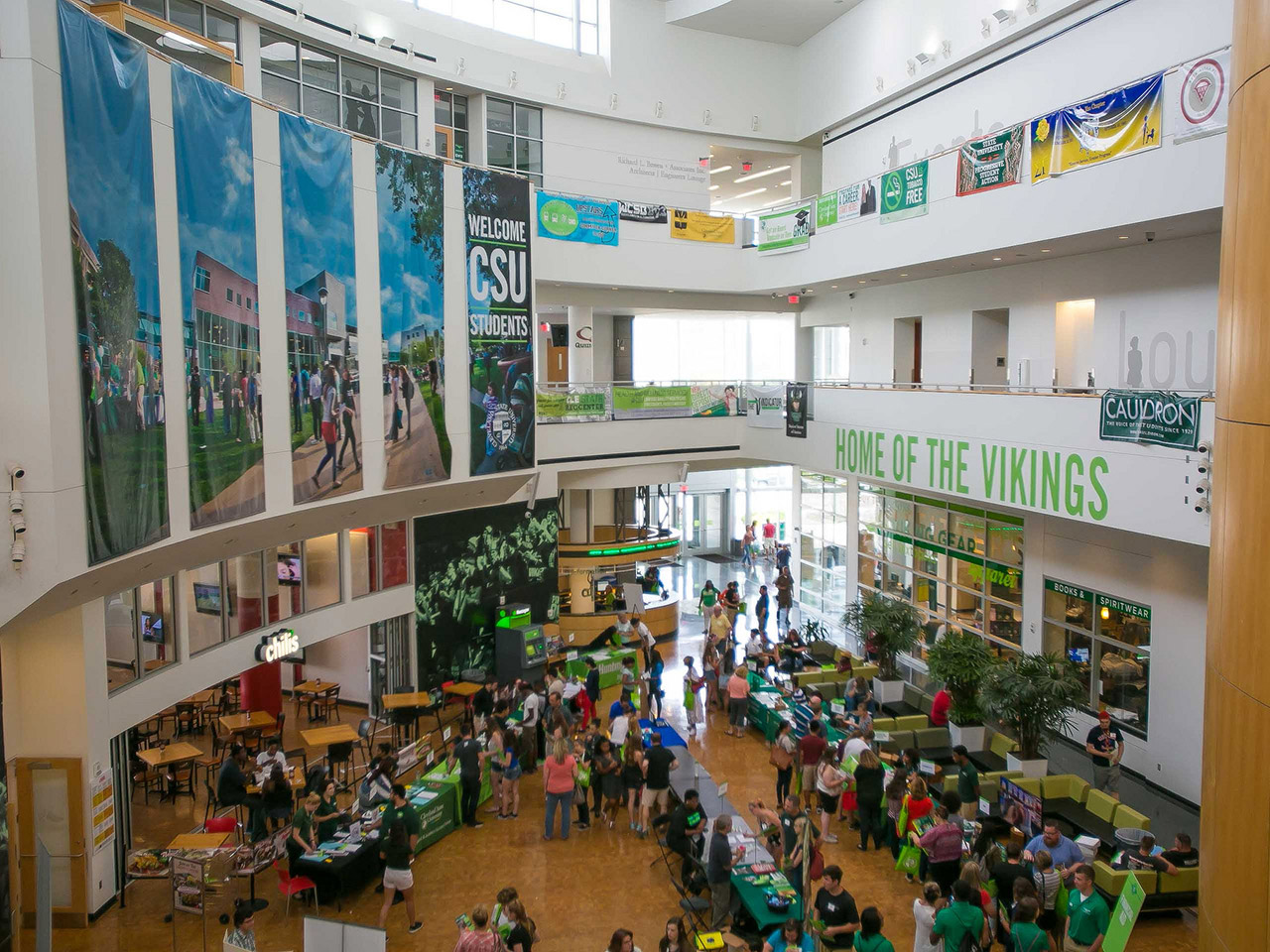 Photo of CSU's student center