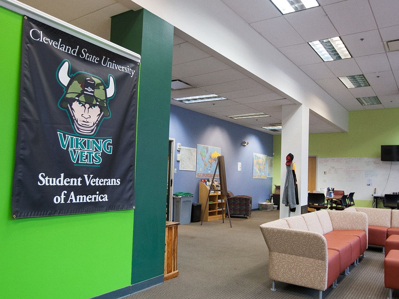Photo of the CSU Veteran Student Success Program offices