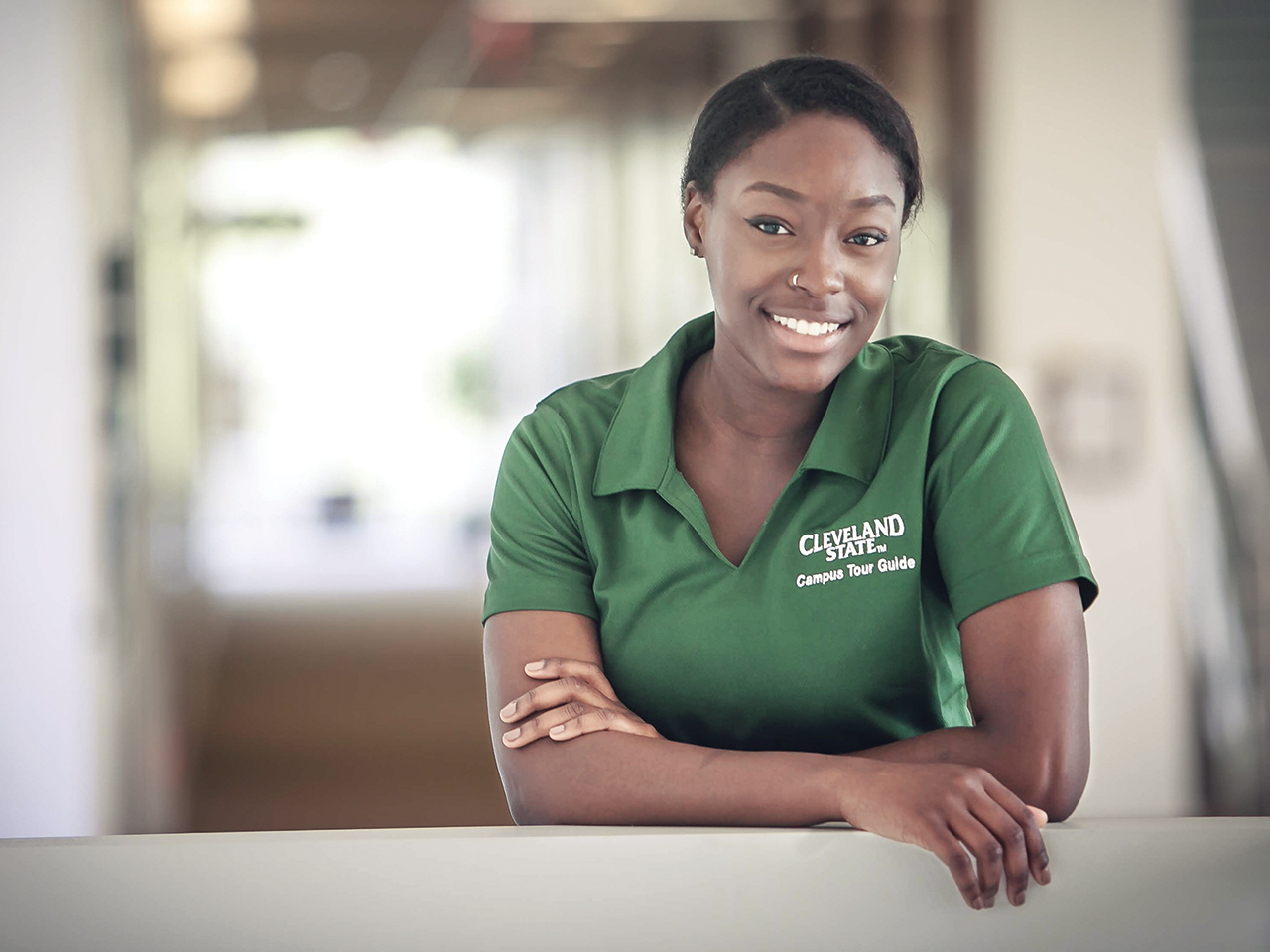 Photo of CSU student Bennedita Smith