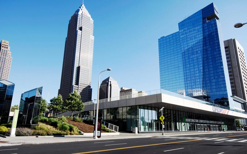 Photo of the Cleveland Convention Center