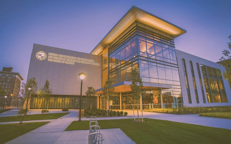 Exterior photo of the Center for Innovation in Medical Professions